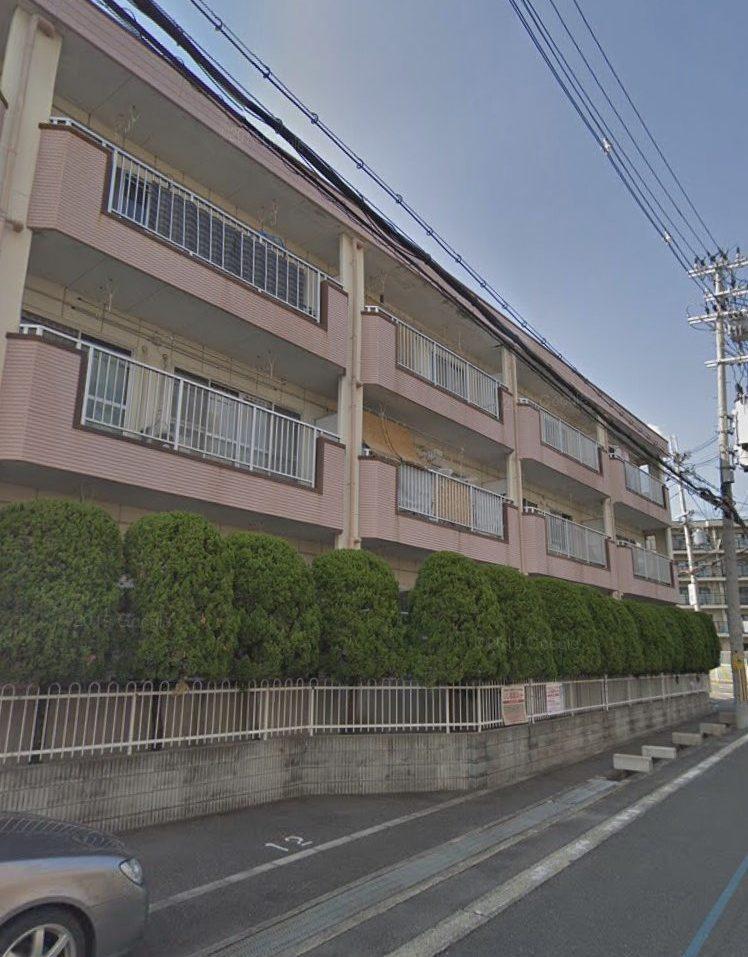 外壁塗装の施工事例 某3階建てマンション